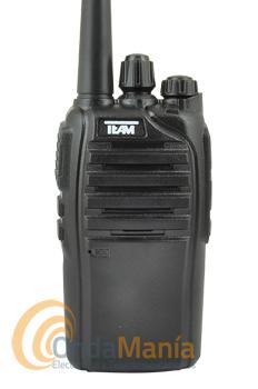 TECOM LC PR-8116 WALKIE PMR-446 DE USO LIBRE  - El Tecom-LC PR-8116 es un walkie de uso libre profesional, ligero y robusto es un equipo PMR-446 de uso libre profesional, con 16 canales, con batería de litio de 7,4 V y 1300 mAh, dispone de cargador rápido, CTCSS, DCS,....