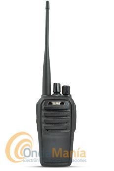 TECOM SL PR-8078 WALKI PMR DE USO LIBRE - Transceptor portátil de uso libre con 16 canales, batería de Li-Ion con 1800 mAh, cargador rápido inteligente,...
