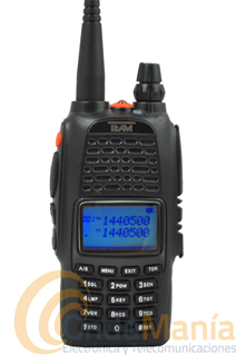 TECOM-DB WALKIE DOBLE BANDA TEAM ELECTRONICS