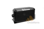 TELECOM CB-250M - Altavoz rectangularexterior Telecom CB-250M con conector de 3,5 mm incluido en el extremo del cable y soporte inclinable.