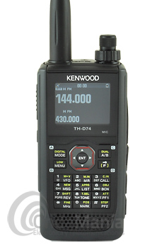 KENNWOOD TH-D74 WALKIE DOBLE BANDA VHF/UHF CON GPS, DIGITAL D-STAR, BLUETOOTH+PINGANILLO DE REGALO