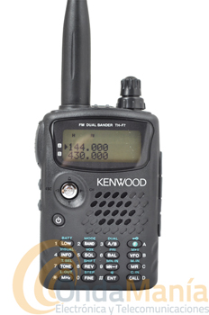 KENWOOD TH-F7E WALKY DOBLE BANDA+PINGANILLO DE REGALO