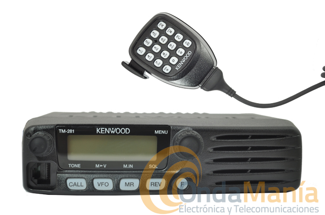 KENWOOD TM-281E TRANSCEPTOR MOVIL+ADAPTADOR N-PL