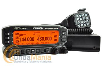 KENWOOD TM-D710G BI-BANDA CON GPS, TNC Y APRS INCORPORADO - El KENWOOD TM-D710G es una versión con GPS incluido de nuestro popular transceptor móvilTM-D710E VHF/UHF. El nuevo modelo