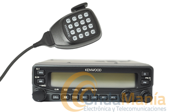 KENWOOD TM-V71E TRANSCEPTOR MOVIL DOBLE BANDA VHF Y UHF