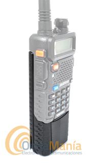 BAOFENG UV-5R V2 WALKIE DOBLE BANDA CON BATERIA DE GRAN CAPACIDAD 3800 MAH+PINGANILLO+PORTE GRATIS - Nueva versión V2 del Baofeng UV-5R con batería de gran capacidad 3800 mAh, es un doble banda homologado con visualización del menú de funciones en el LCD, batería de Ion-Litio de alta capacidad 1800 mAh., tonos DCS y CTCSS, 128 canales de memoria, radio de FM comercial,....