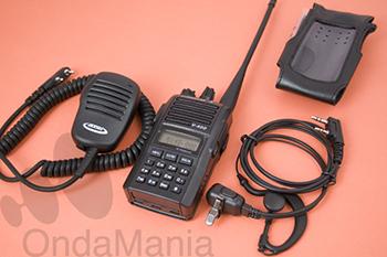 DYNASCAN V-400 PACK PLUS TRANSCEPTOR PORTATIL DE VHF CON RADIO DE FM, 5 TONOS,...