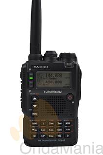YAESU VX-8DE PORTATIL TRIBANDA 50/144/430 MHZ+PORTES GRATIS - OFERTA HASTA FIN DE STOCK!!! Portatil Tri-banda 50/144/430 Mhz. o doble banda 144/430 Mhz para que pueda elegir la versión que mas se le adapte a sus necesidades el VX-8 utiliza una tecnología rompedora, con manos libres Bluetooth (requiere accesorio opcional) con GPRS/APRS y autentica recepción doble banda...... Pura belleza de la tecnología y elegancia en un cuerpo compacto con alta fiabilidad y fácil manejo.