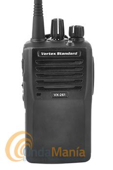 VERTEX VX-261 TRANSCEPTOR PORTATIL 16 CANALES PARA CAZA CON BATERIA DE LITIO