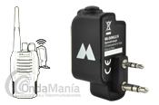 MIDLAND WA-DONGLE K ADAPTADOR BLUETOOTH - El Midland WA-DONGLE es un adaptador Bluetooth para equipos con conmutación Kenwood como los Midland (algún modelo), Dynascan, Intek, Wouxum, Baofeng,...