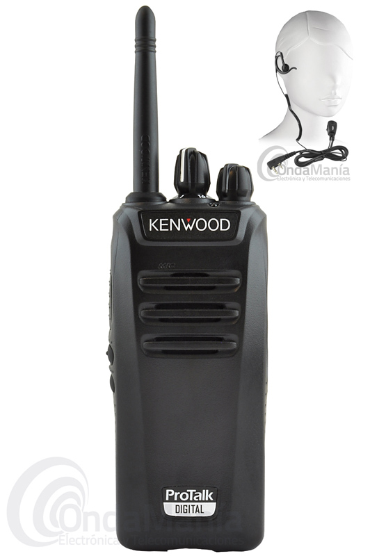 KENWOOD TK-3401DE PMR DE USO LIBRE ANALOGICO/DIGITAL+REGALO PINGANILLO