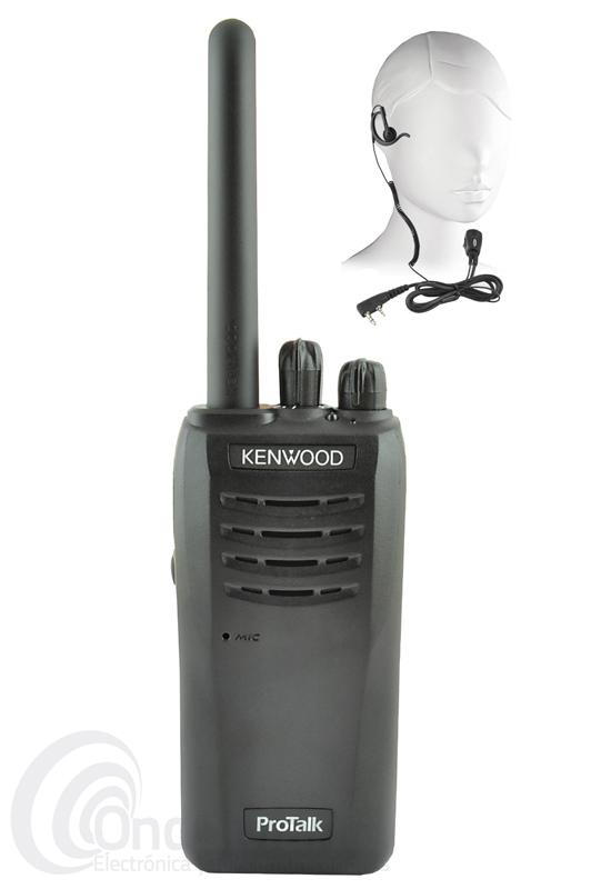 KENWOOD TK-3501 WALKIE PMR DE USO LIBRE CON PINGANILLO DE REGALO