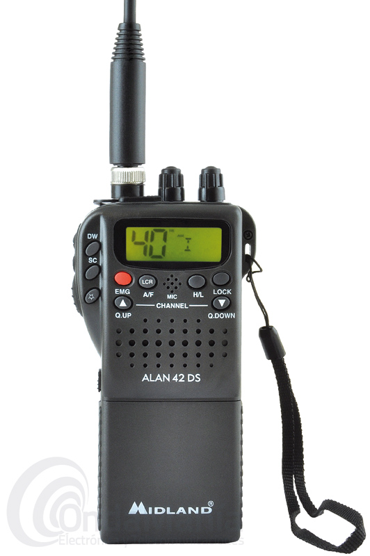 MIDLAND ALAN 42 MULTI/DS WALKIE DE BANDA CIUDADANA CB 27 MHZ - OUTLET -