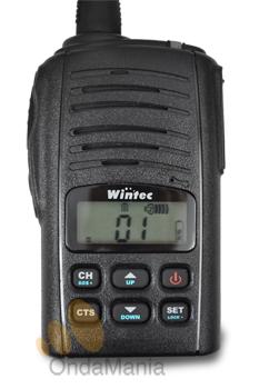 WINTEC LP-4502+ NUEVA VERSION DEL PMR-446 DE USO LIBRE - El PMR Wintec LP-4502+ nueva version del PMR profesional mas pequeño, duro y efectivo del mercado. Incluye batería y cargador. NUEVA VERSION CON BATERIA DE LITIO + CAPACIDAD Y MENOS PESO.