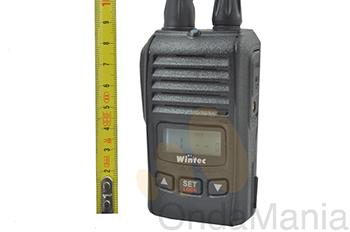 PMR WINTEC MINI 46 CON UNA BATERIA MAS DE REGALO - El PMR Wintec Mini 46 es uno de los PMR profesionales mas pequeños del mercado. Incluye DOS baterías de litio y cargador.