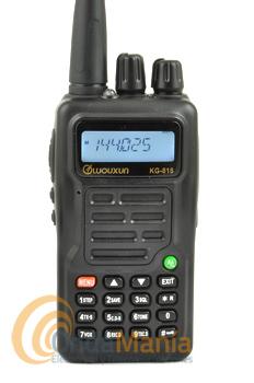 WOUXUN KG-818 WALKIE DE VHF CON RADIO COMERCIAL Y LINTERNA LED