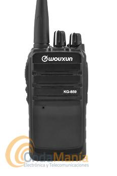 WOUXUN KG-859 PORTATIL PMR VHF CON 16 CANALES Y 5 W