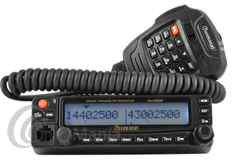 WOUXUN KG-UV920P EMISORA MOVIL DOBLE BANDA FM UHF/VHF FULL DUPLEX