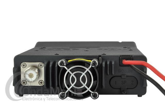 WOUXUN KG-UV920P EMISORA MOVIL DOBLE BANDA FM UHF/VHF FULL DUPLEX  - Transceptor doble banda dúplex total con 50 W en VHF y 40 W en UHF, incluye 999 memorias, radio comercial de FM, micrófono multifunción con altavoz incorporado, frontal extraíble, CTCSS y DCS incluidos, secrafonia,...