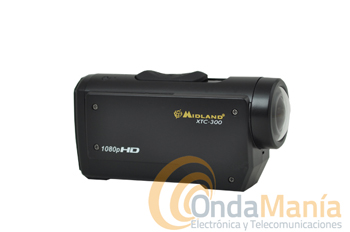 MIDLAND XTC-300 CAMERA DE ALTA DEFINICION HD 1080p+FUNDA WATERPROOF
